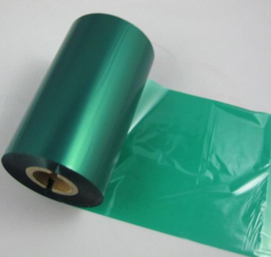 彩色混色蜡基碳带