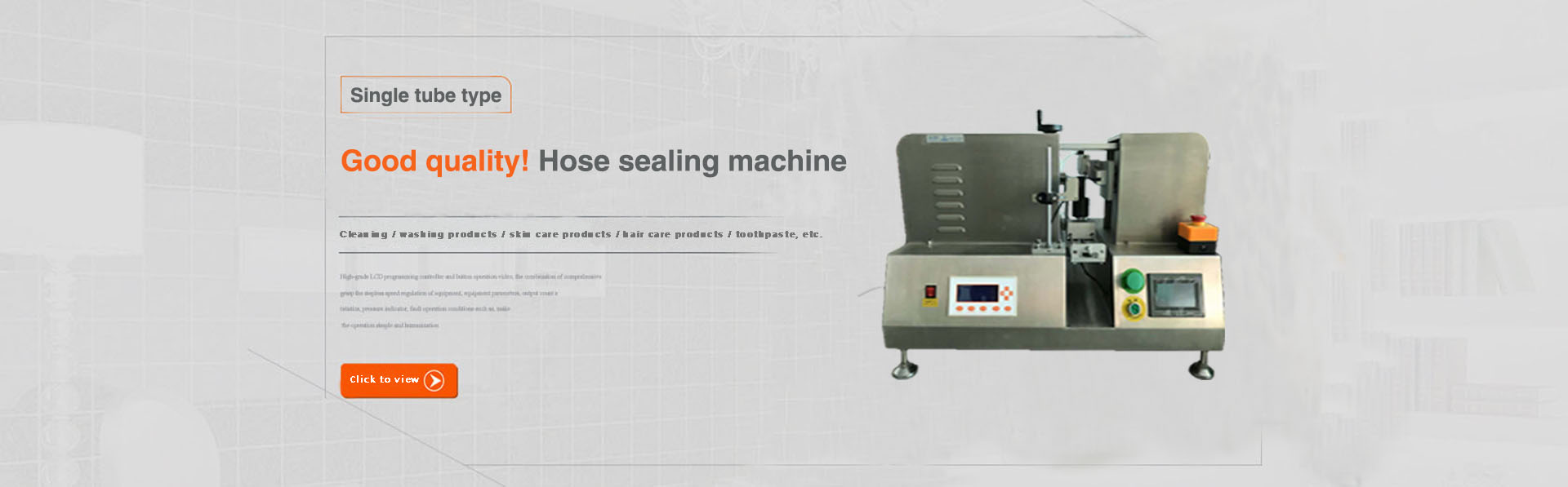 Semi - automatic labeling machine