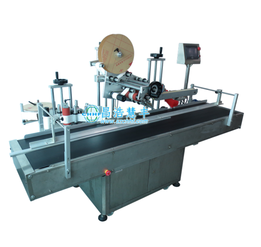 Automatic side angle labeling machine