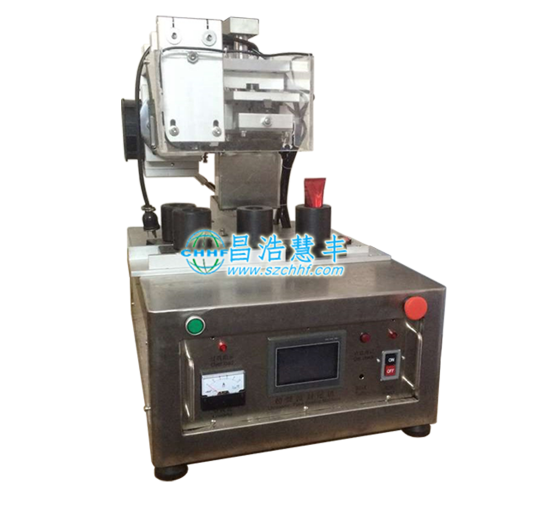 Manual hose sealing machine