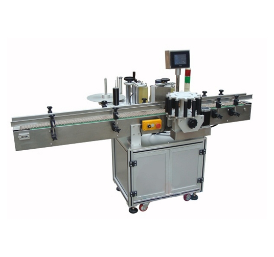 Single standard multi - sided adhesive labeling machine
